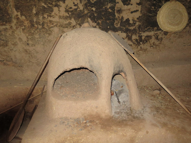 Horno en la Kasbah de Amridil