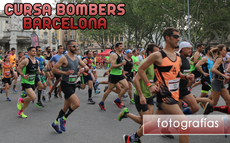 Cursa Bombers Barcelona 2018