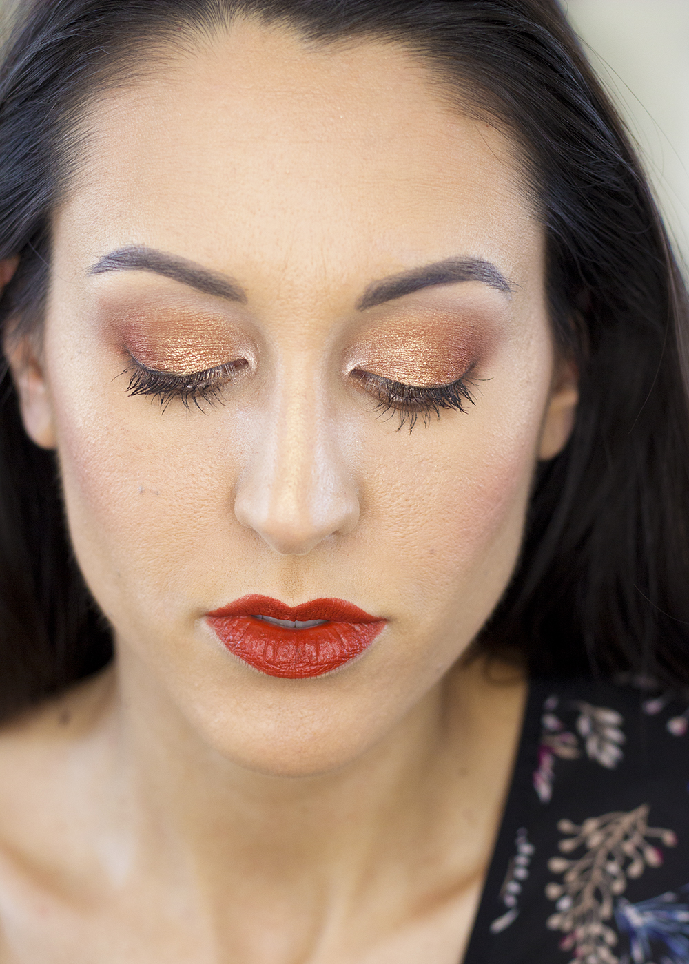 Milani Bold Obsessions Makeup Look