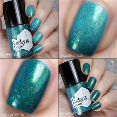 Lucky 13 Lacquer | Secretly a Mermaid
