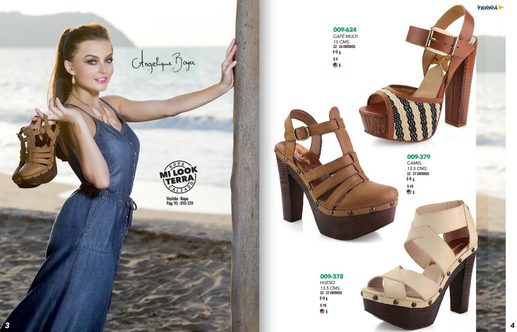 Mundo terra zapatos catalogo dama pv 2017 mexico for Catalogos terra