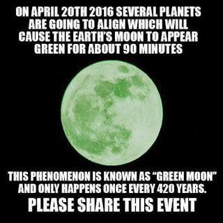 Bulan hijau