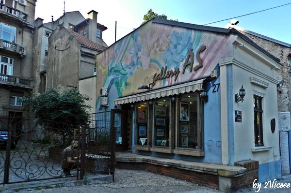 Skadarlija-Belgrad-galerie-de-arta