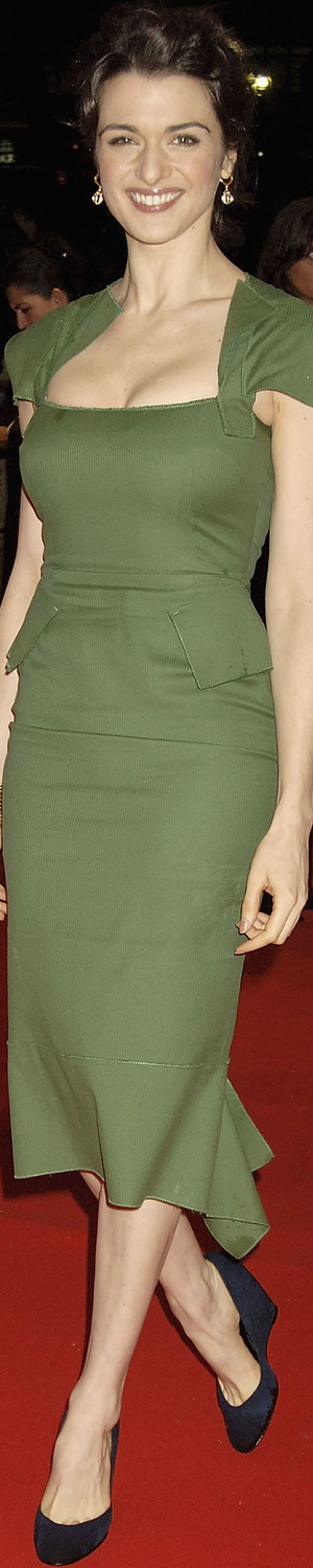 Rachel Weisz in Roland Mouret Galaxy in 2005 The Constant Gardener