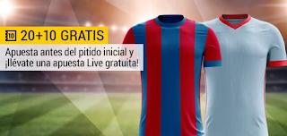 bwin promocion 10 euros Levante vs Celta 27 agosto