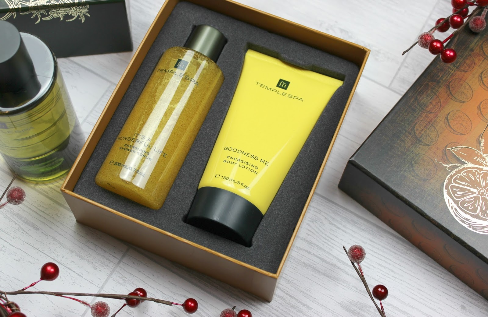 Luxury Christmas Gifts with Temple Spa - Tattooed Tealady