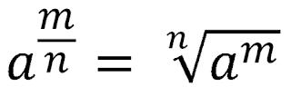 Pengertian, rumus dan contoh bilangan pangkat pecahan