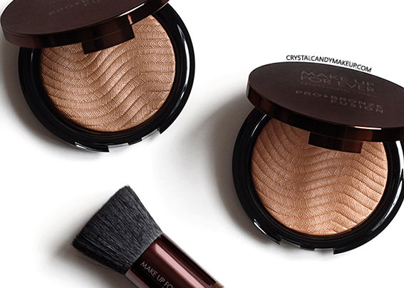 Make Up For Ever Pro Bronze Fusion Bronzing Powders 20M 25I Review