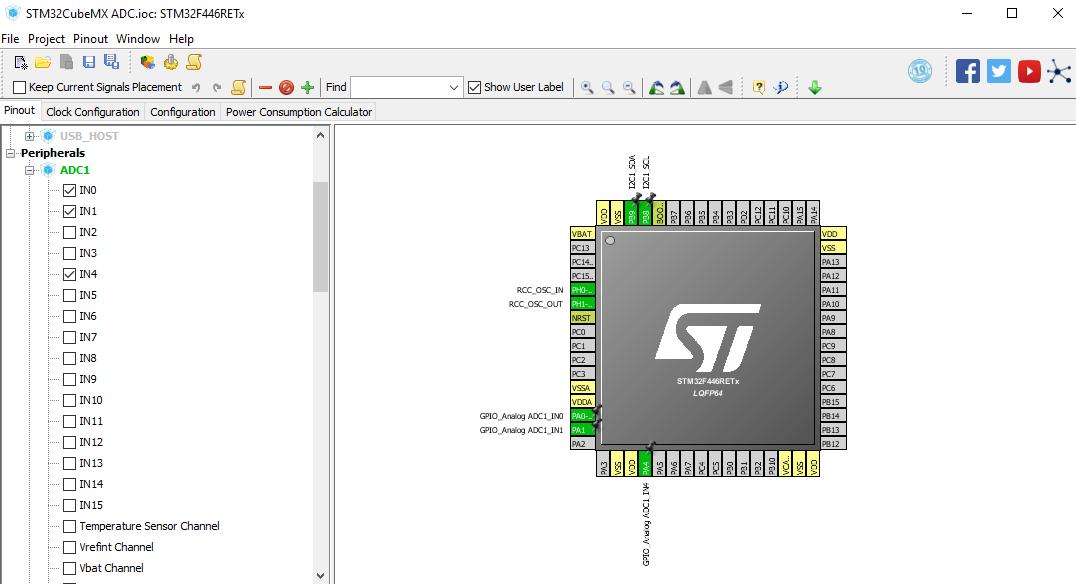 Tutorial STM32, Cara Membaca ADC Multichanel STMCubeMx dan