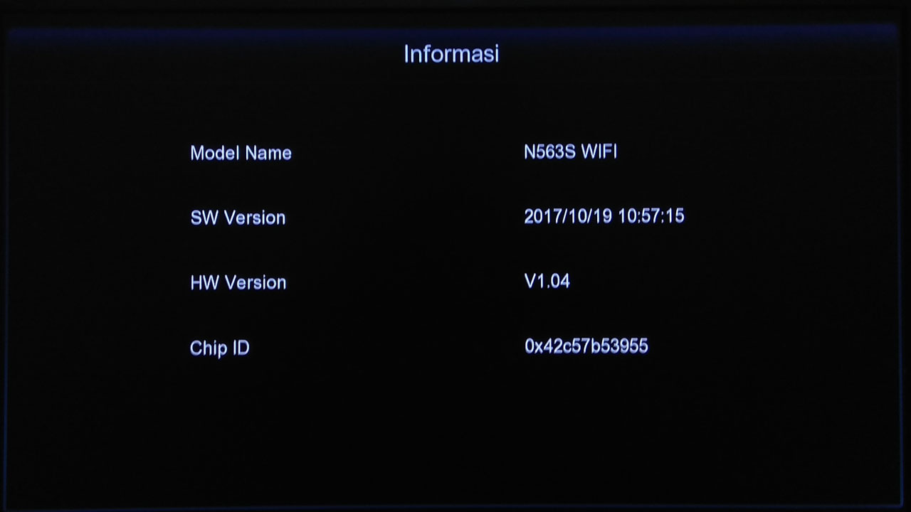 Software Venus Meteor V SW Receiver Firmware Terbaru