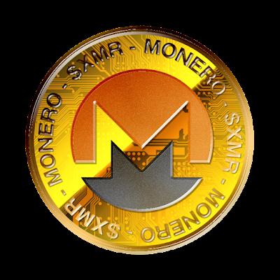 Moneroのフリー素材(金貨ver)