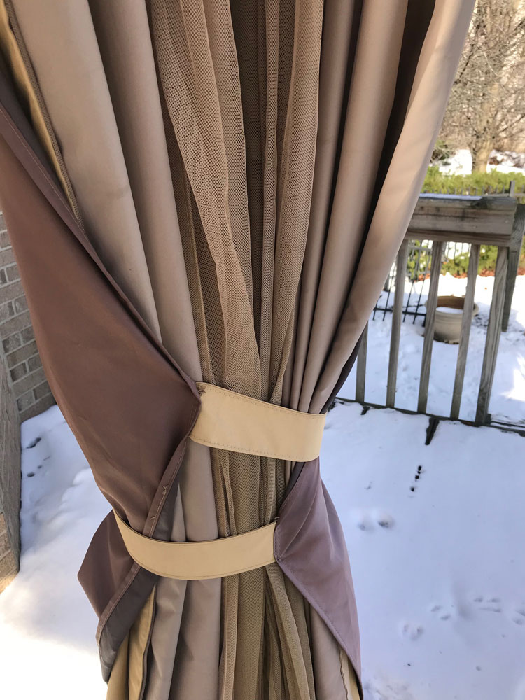The Folds In The Fastened Curtains Have Become A Hiding Place For Stink  Bugs. The Folds Have Also Become A Treasure Trove Of A Winter Protein  Source For Our ...