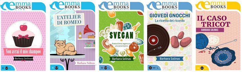 I libri di Barbara Solinas