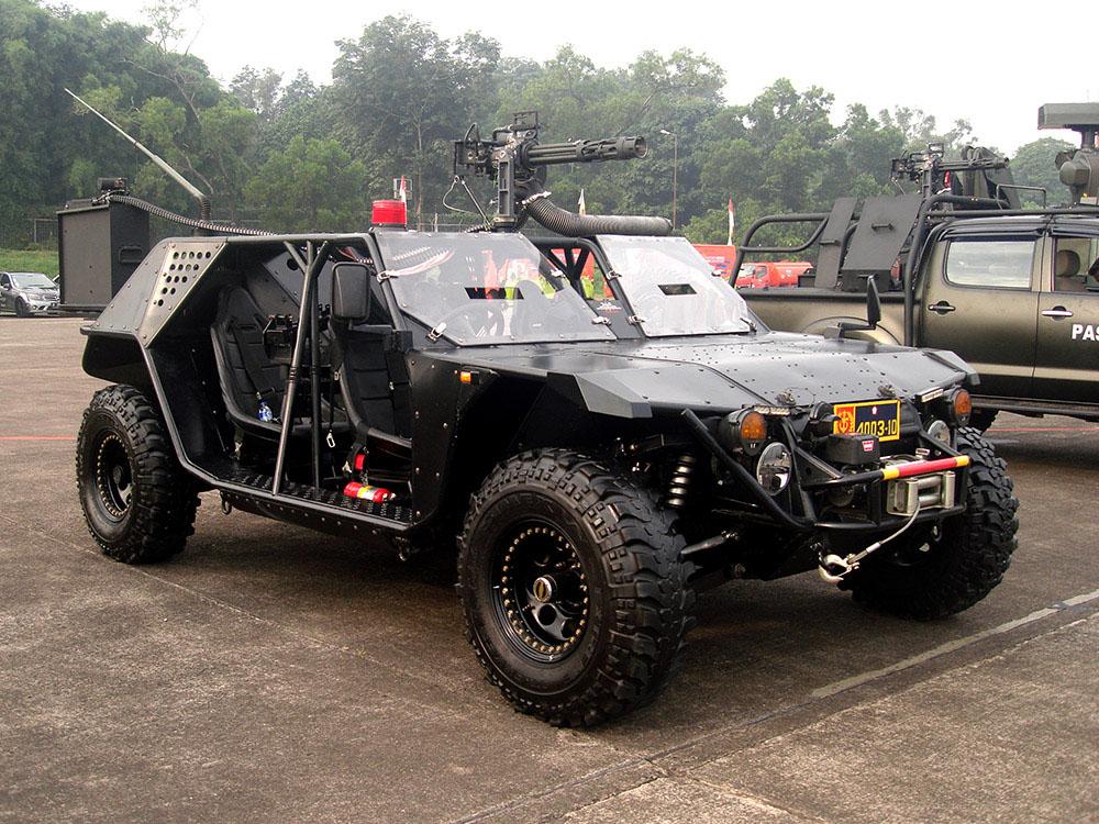 P6-ATAV Kendaraan Tempur Produksi Dalam Negeri