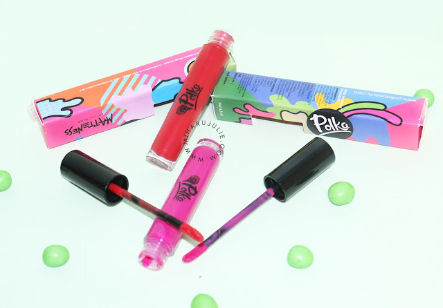 Polka Beauty Matteness Lip Lacquer Review and Swatch