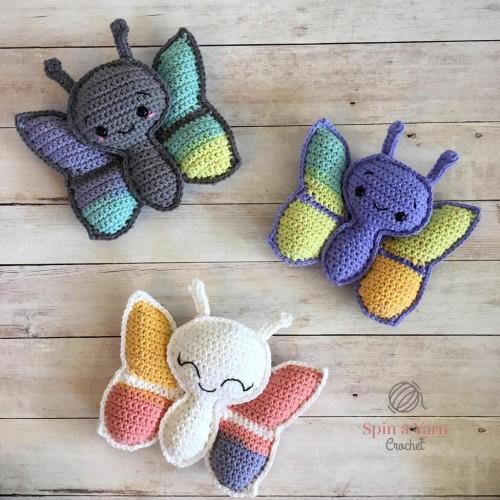 Butterfly Amigurumi - Free Crochet Pattern