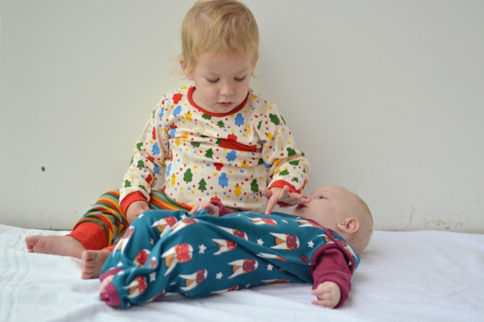 brother and sister, little green radicals LGR aw16, 16 month age gap