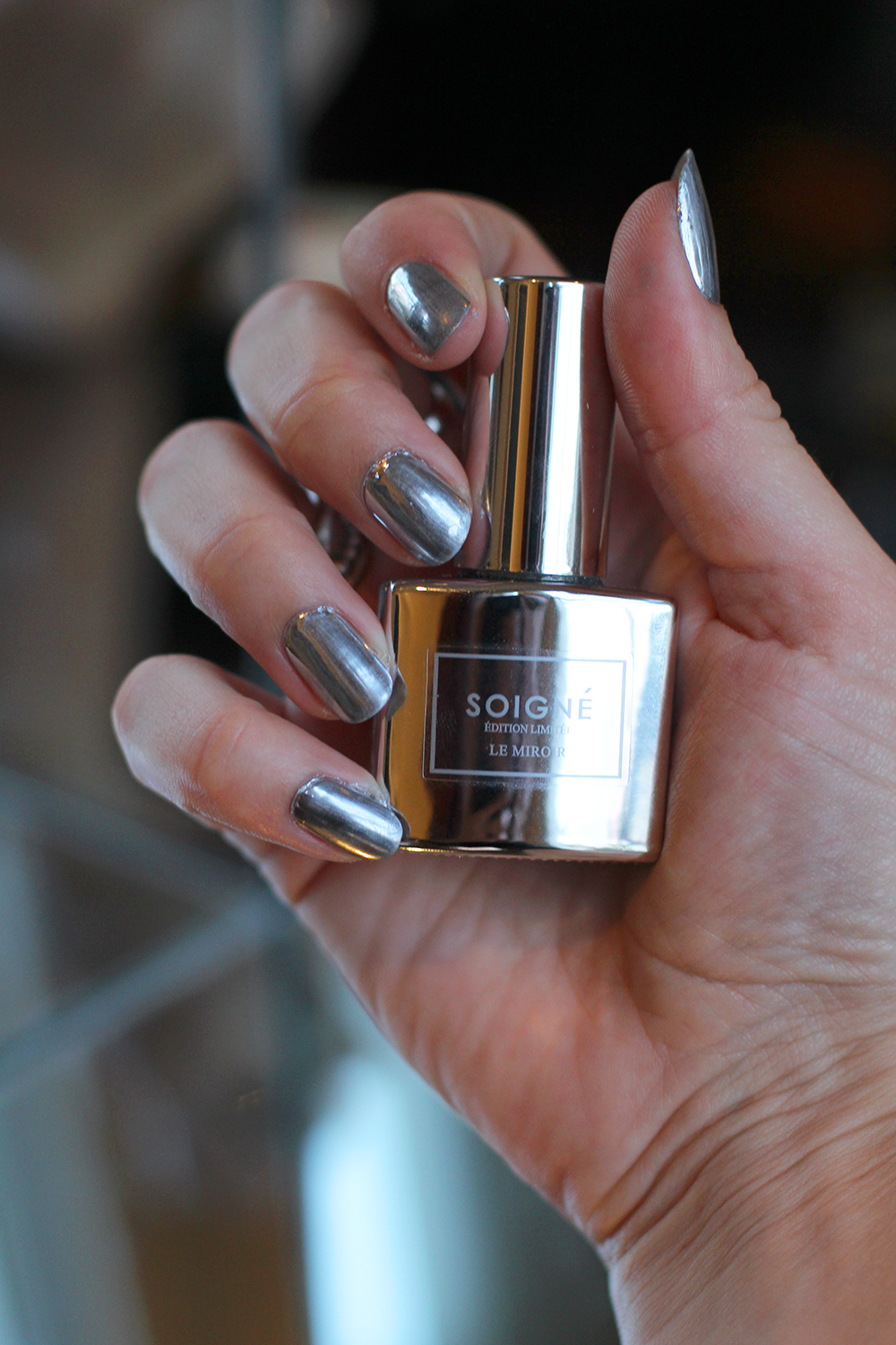 Soigne Le Miroir mirror shine nail varnish - UK beauty blog