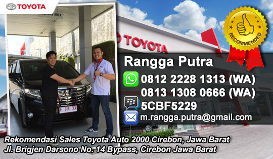 Harga Toyota 2016 Rekomendasi Sales Toyota Cirebon