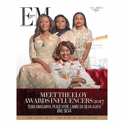Peace Hyde Covers Exquisite Magazine As A 2017 Influencer
