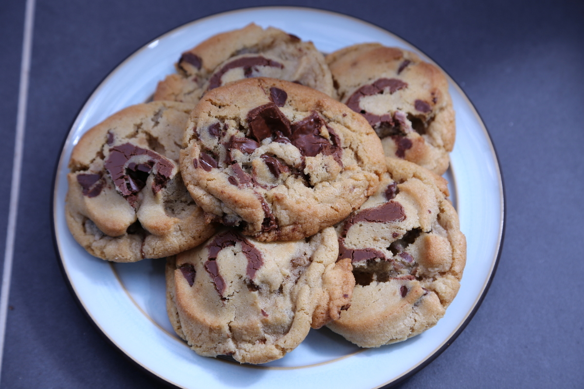 113 grams of butter chocolate chip nutella swirl cookies. Black Bedroom Furniture Sets. Home Design Ideas