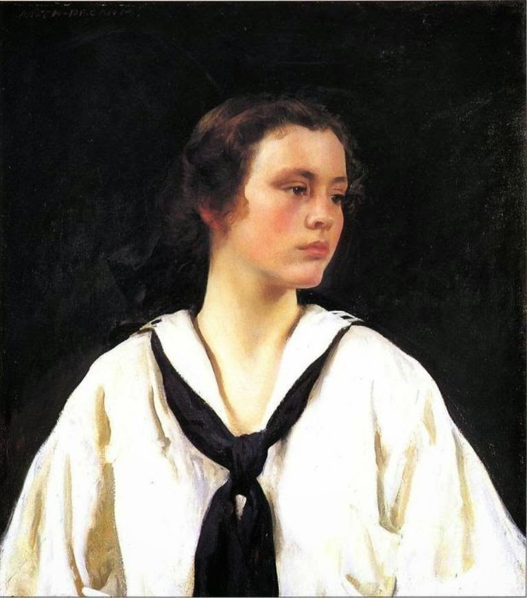 Joseph Rodefer DeCamp, International Art Gallery, Portrait of Sally