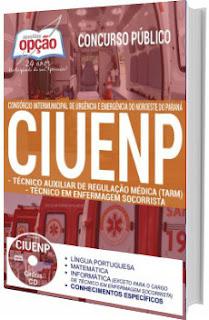 Apostila Concurso CIUENP SAMU PR 2017