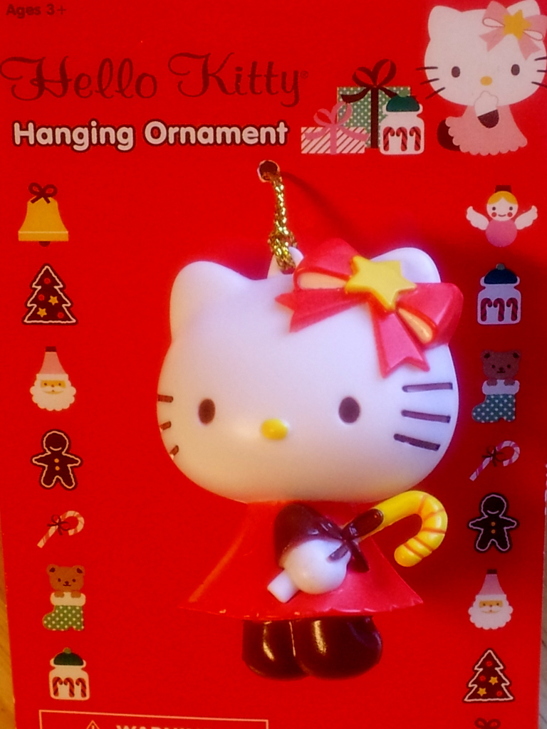 The house of kent hello kitty target ornament