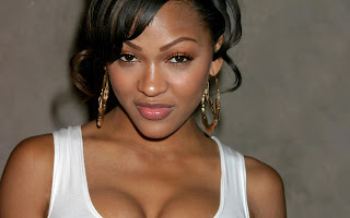 Meagan Good bamboo earrings