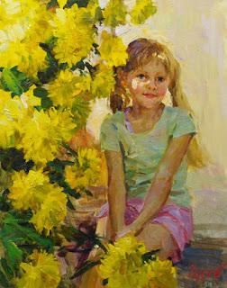 niñas-cuadros-pintados