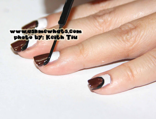 a photo of Rudolf the Red Nose Reindeer Nail Art, Christmas Nail Art Tutorial