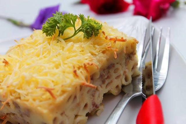 Resep Macaroni Schotel Kukus Sederhana dan Anti Ribet