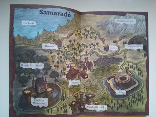 Mapa de Samarado de Mondragó Crías de dragón