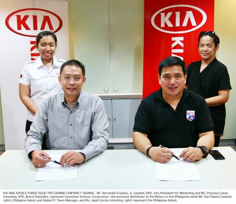 Kia Strikes Stronger Foothold in Sport with AZKALS and ...