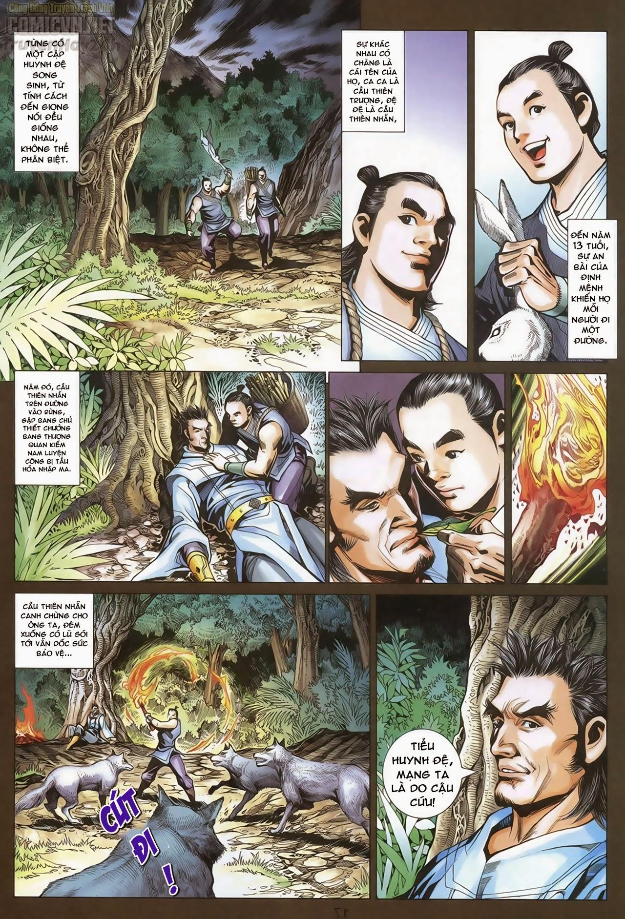 Anh Hùng Xạ Điêu anh hùng xạ đêu chap 69: hồn đoạn thiết chưởng phong trang 18