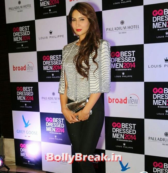 Kim Sharma, Evelyn, Kim, Nargis Sizzle at GQ Best Dressed Men 2014 Awards