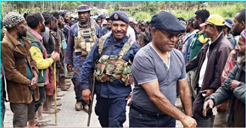 PNG Deputy Chief Justice ends tribal fight