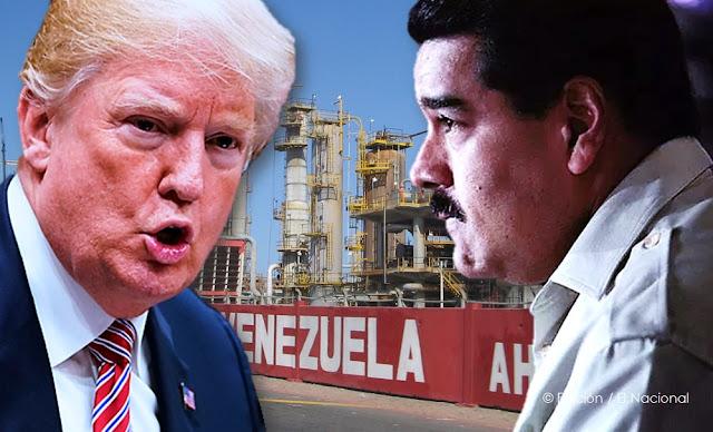 Sanciones de Estados Unidos a Venezuela