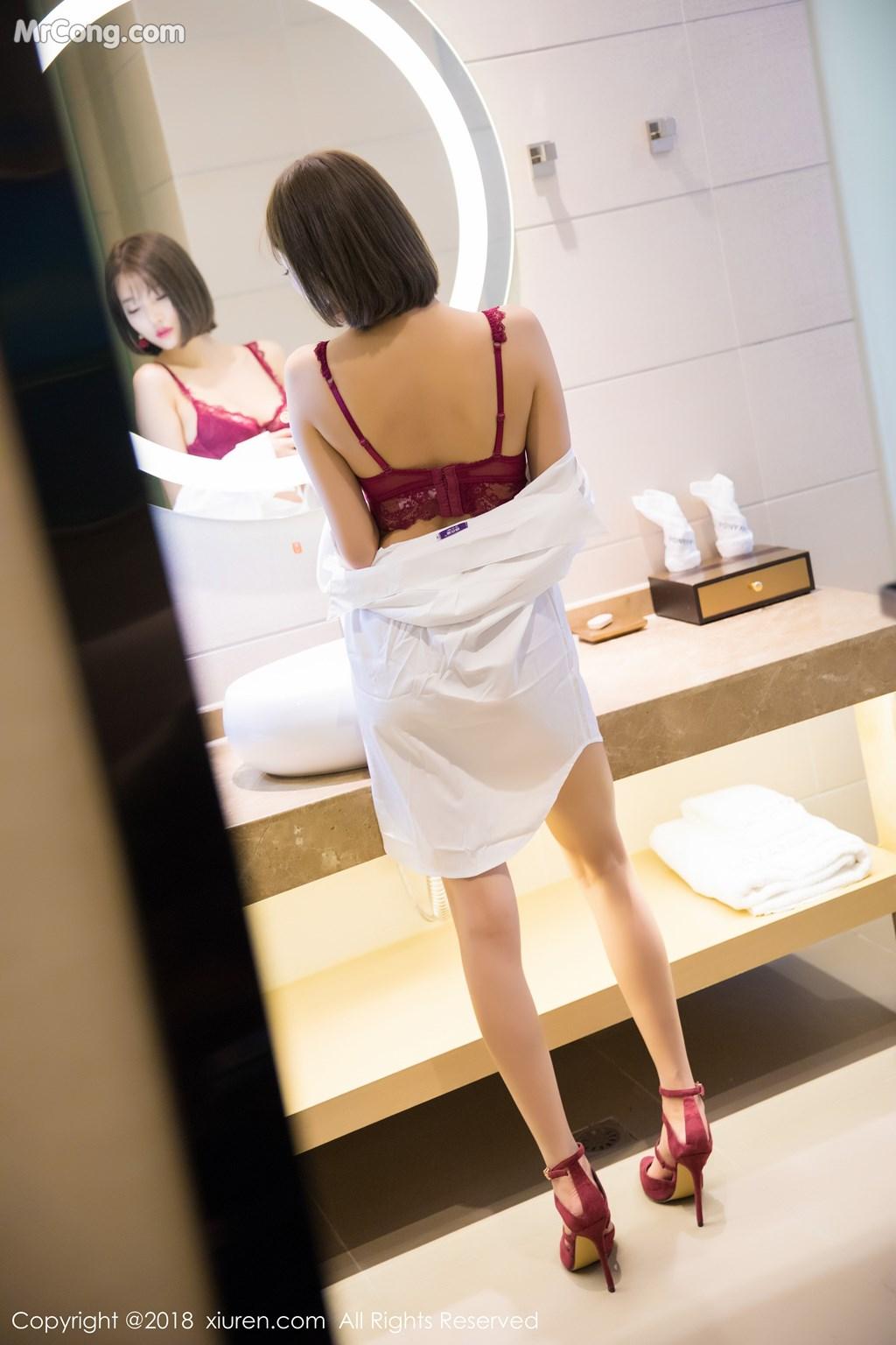 Image XIUREN-No.919-Yang-Chen-Chen-sugar-MrCong.com-050 in post XIUREN No.919: Người mẫu Yang Chen Chen (杨晨晨sugar) (55 ảnh)
