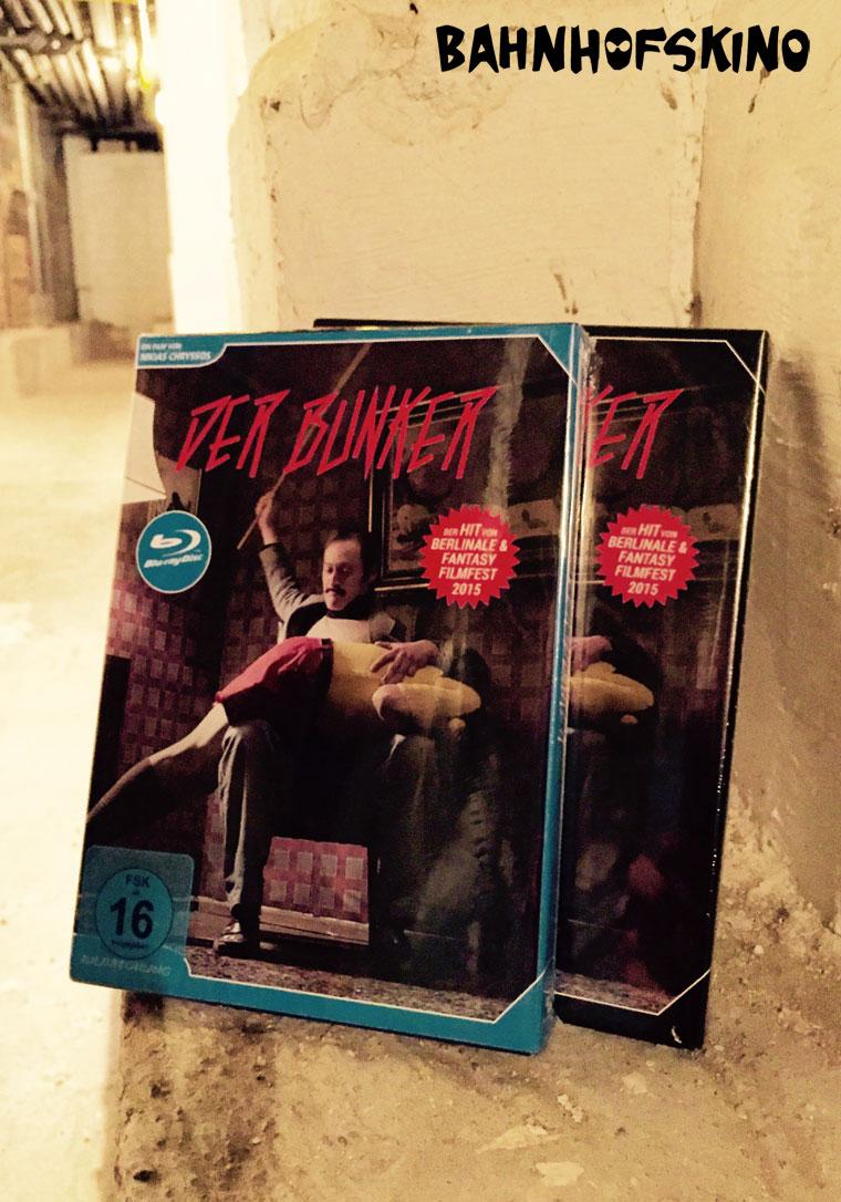 Der Bunker (2015) von Nikias Chryssos auf Blu-ray und DVD von Bildstörung