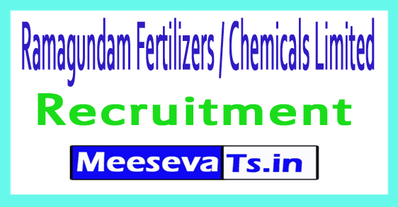 Ramagundam Fertilizers / Chemicals Limited RFCL Recruitment