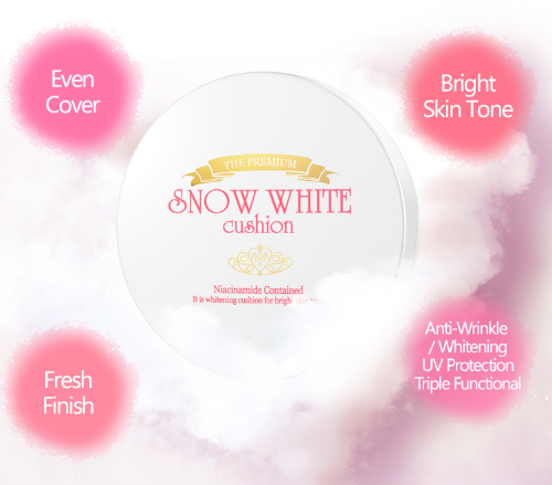 The Premium Snow White Cushion