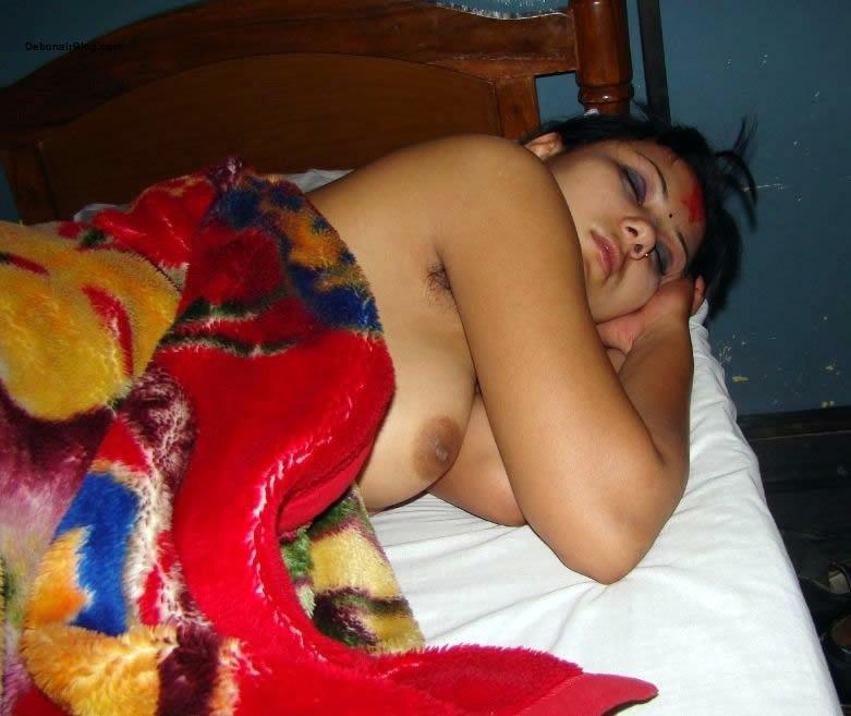 Sexy Cute Nepali Girl Nude Photo After Dashain Tika  Nude 4U-9743