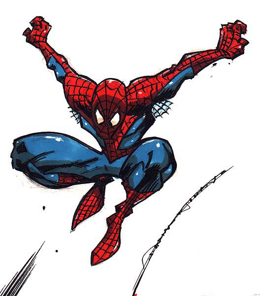 All Cliparts: Spiderman Clipart