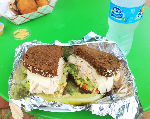 Travel Guide Dallas Texas Food Truck Sandwich