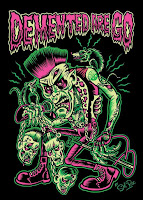 Demented Are Go, Spanish & Italian Tour 2016 .