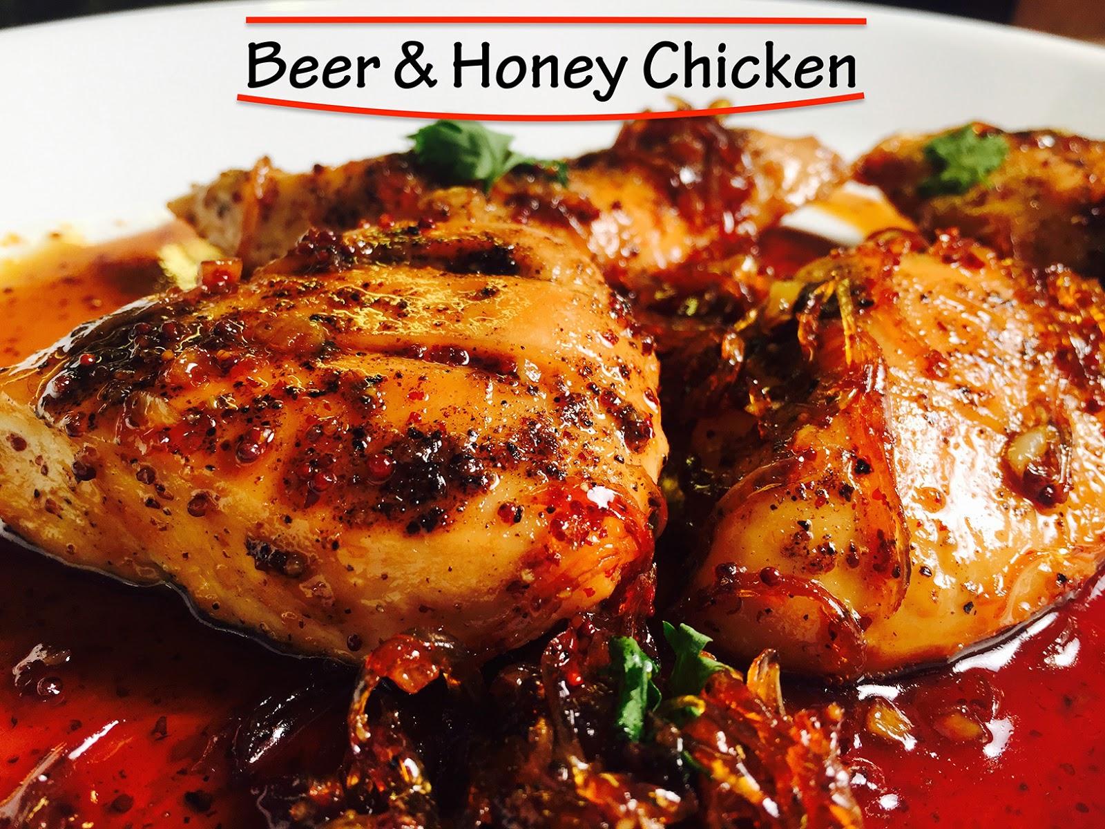 food chicken honey beer delicious recipes recettes devilishly sign recipe autres ricardo et taste