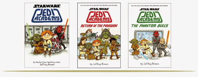 Star Wars Jedi Academy Book Series for Tweens  |  www.9CoolThings.com