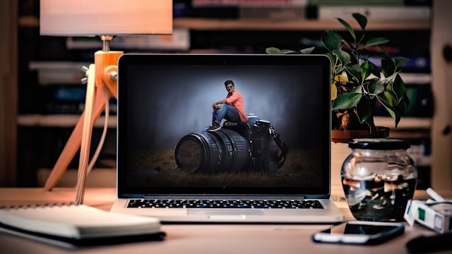 MY PHOTO ON MAC BOOK PHOTOSHOP EDITING TUTORIAL