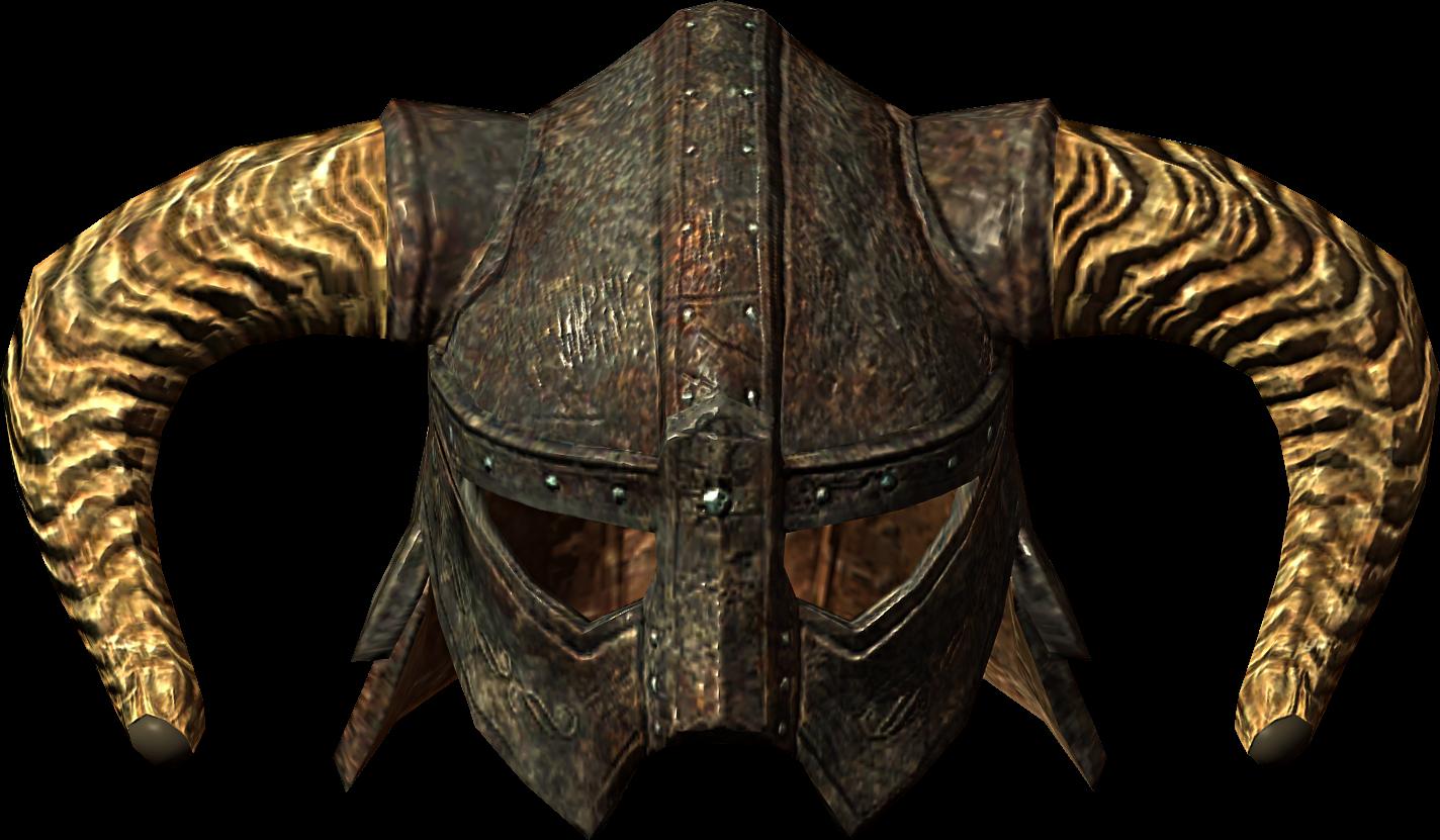 Single horned helmet ro
